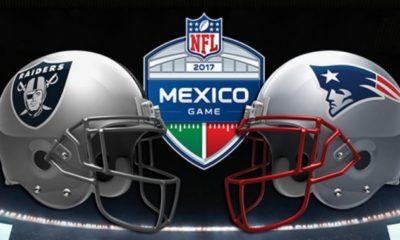 Todo listo para el Patriots vs Raiders