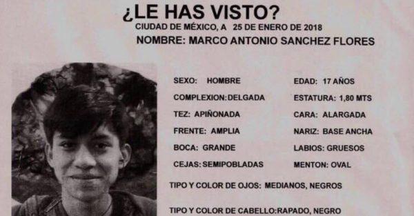Marco Antonio Sánchez Flores