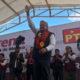 TEOPISCO, CHIAPAS, 24ENERO2018.- Andrés Manuel López Obrador, precandidato de Morena a la Presidencia de la República, sostuvo un encuentro con militantes y simpatizantes, durante su segundo día en el estado chiapaneco. FOTO: CUARTOSCURO.COM
