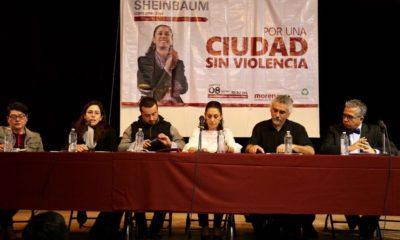 Claudia Sheinbaum por una ciudad sin violencia