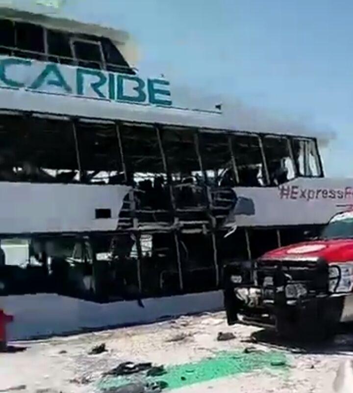Explosión Playa del Carmen