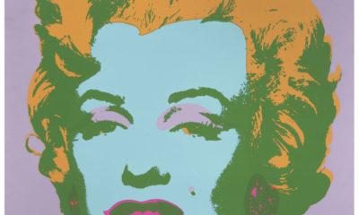 Marilyn Monroe pintada por Warhol