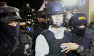 Detienen a exsecretario de Primera Dama en Honduras