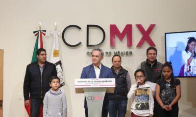 Miguel Ángel Mancera habla sobre torres en Copilco