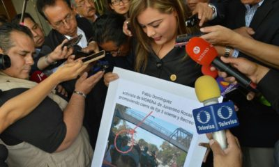 """La legisladora perredista Elizabeth Mateos pidió a los integrantes y dirigentes de Morena """"dejar de intentar desestabilizar a la ciudad y usar el tema del agua con fines políticos"""""""