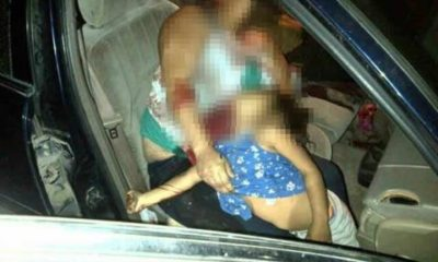 Familia asesinada en Nuevo Laredo, Tamaulipas