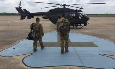 Fuerzas texanas van a la frontera