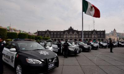 TOLUCA, ESTADO DE MÉXICO, 07MAYO2018.- El Ayuntamiento de Toluca y la Secretaria de Seguridad del Estado de México entregaron 100 patrullas, para incrementar la seguridad de la ciudadanía. FOTO: ARTEMIO GUERRA BAZ /CUARTOSCURO.COM