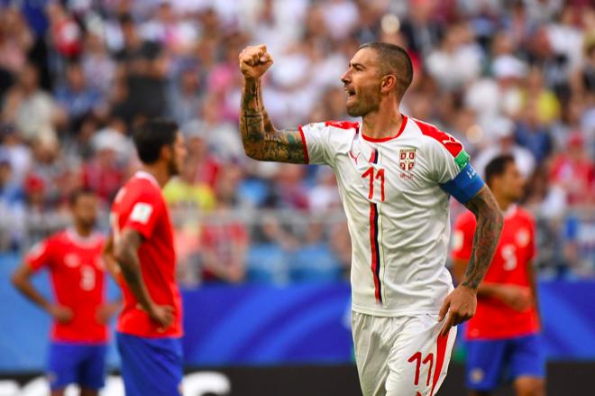Serbia gana a Costa Rica