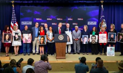 Fronteras sin crimen, dice Trump