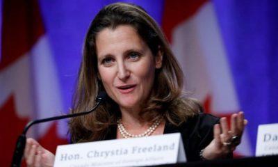 Ministra canadiense denuncia ante OMC