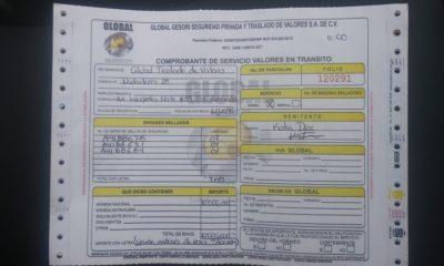 Orden de entrega, 20 mdp