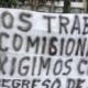 Protesta IMSS en calzada de Zaragoza