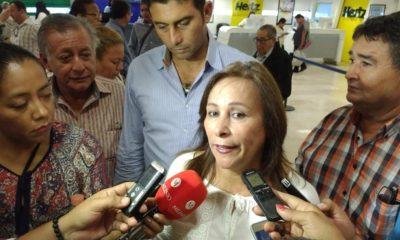 Rocío Nahle llega a Tabasco