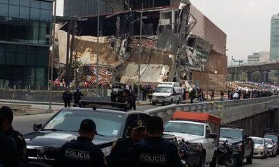 Derrumbe de la Plaza Artz