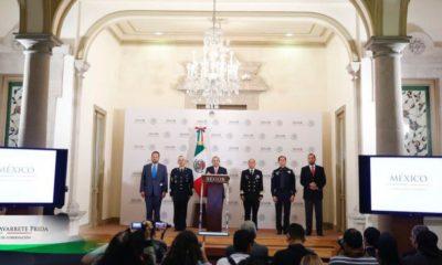 Alfonso Navarrete Prida anuncia captura