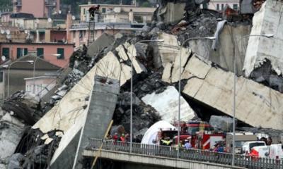 Colapso, puente en Italia