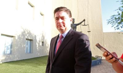 MONTERREY, NUEVO LEÓN, 03ABRIL2017.- El ex gobernador priista de Nuevo León; Rodrigo Medina de la Crúz acudió nuevamente al juzgado a una audiencia en el que el juez le pide dar el convendio que realizó con la empresa coreana Kia durante su administración. FOTO: CUARTOSCURO.COM