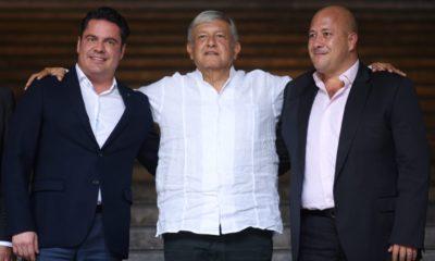 AMLO, Guadalajara, Alfaro, Sandoval
