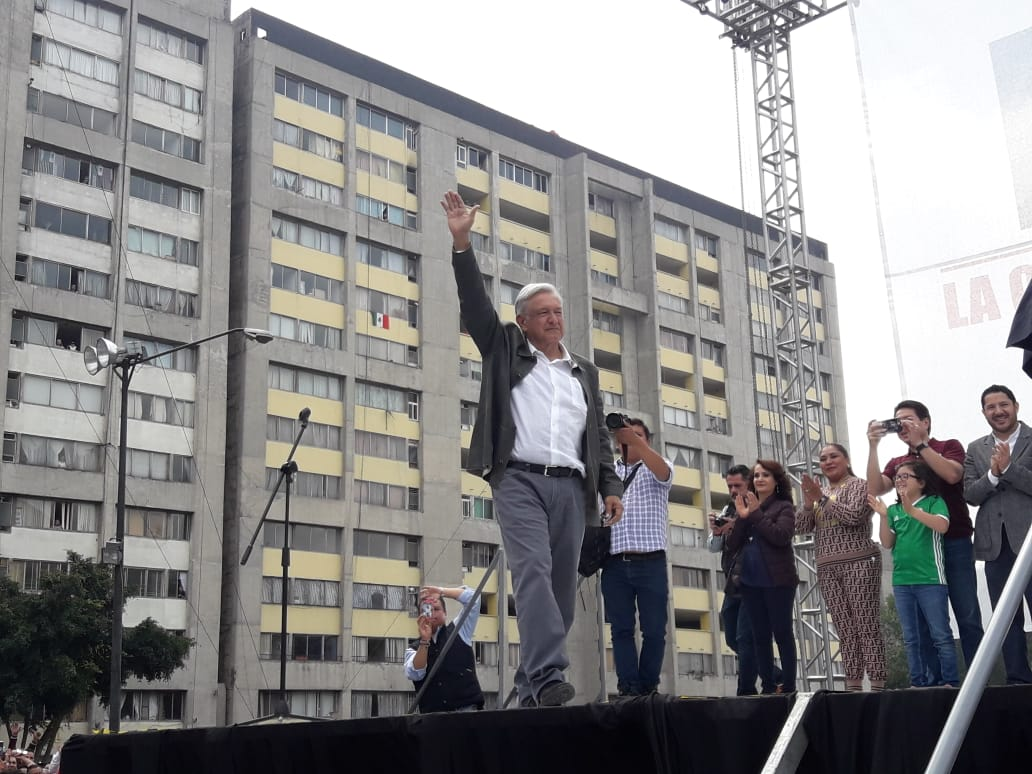 AMLO, Tlatelolco, 2 de octubre