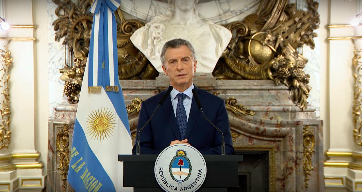 Macri recortes gabinete