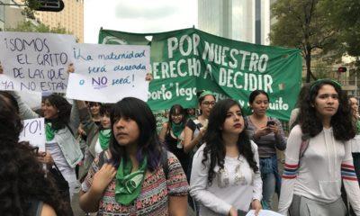 Marcha aborto legal marea verde