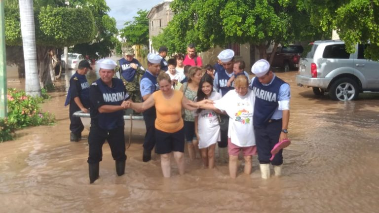 Sonora emergencia lluvias