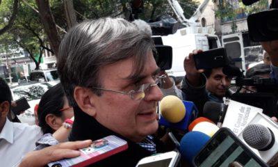 El futuro canciller, Marcelo Ebrard, hace votos para que el acuerdo comercial se mantenga trilateral; se reunió con AMLO