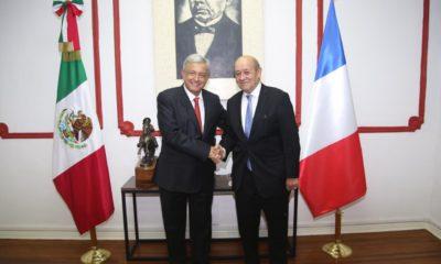 AMLO, Macron, México, Francia
