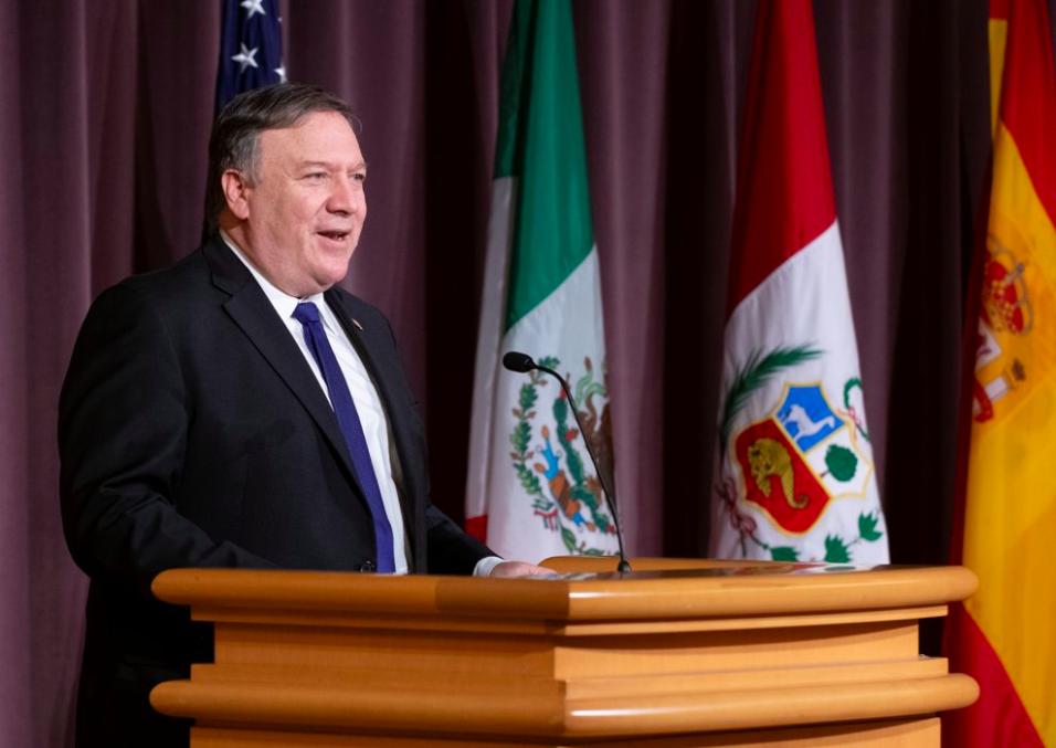 Mike Pompeo México reunión