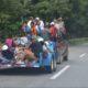 Caravana migrante avanza