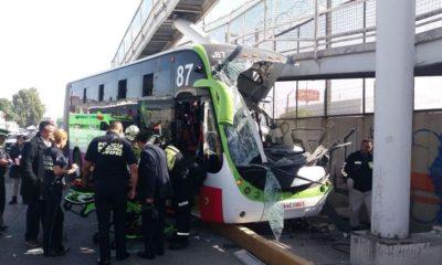Mexibus, accidente, Ecatepec