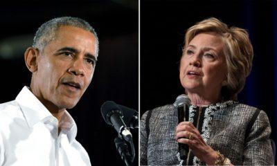 Oabama, Clinton, bombas, USSS
