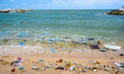 plástico oceano