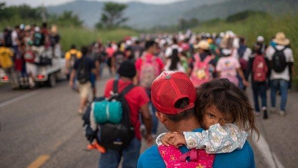Caravana migrante, deportación, Reuters