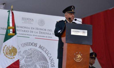Cienfuegos dice que el ejército quedará en Buenas Manos AMLO