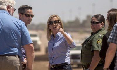 Kristjen Nielsen, caravana migrantes, san Diego