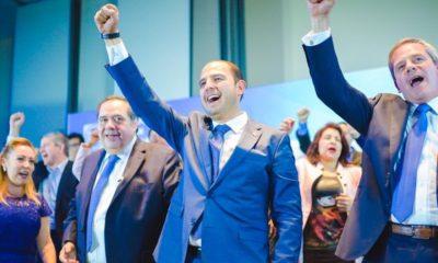 Marko Cortes asume el cargo de Presidente del PAN