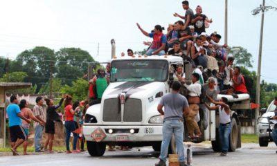 Migrantes, CDMX, Caravana