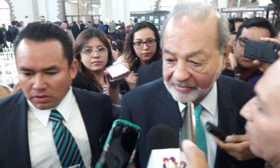 Slim se dijo confiado de la certidumbre económica en sexenio de AMLO