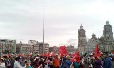 Campesinos apoyan a AMLO para que logre su cuarta transformación