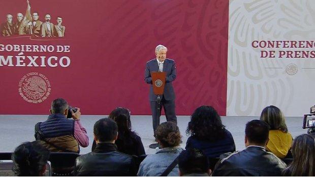 """AMLO conferencia de prensa habla sobre el """"Caso Puebla"""""""