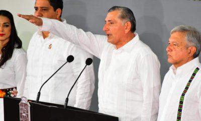 """Adán Augusto López asume en Tabasco; """"No soy un improvisado"""", dice"""
