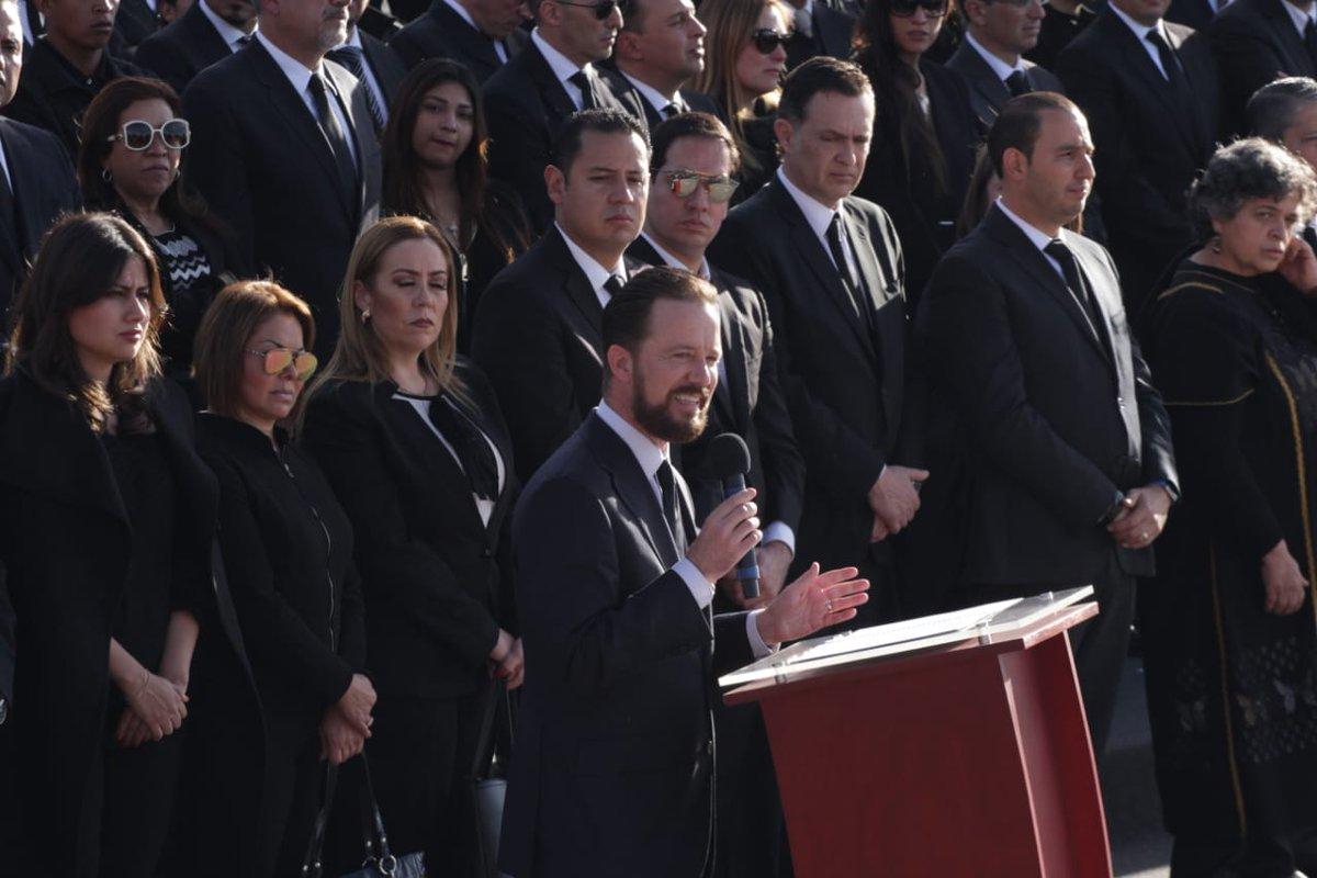 Banck pide investigación y justicia para Martha Érika Alonso y Rafael Moreno Valle