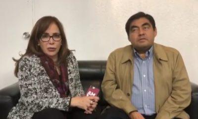 Barbosa y Yeidckol P. emiten mensajes sobre posible anulación de la elección en Puebla
