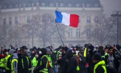 Francia Macron Chalecos