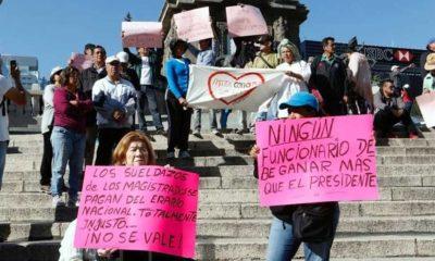 Salarios, protestan, Ángel