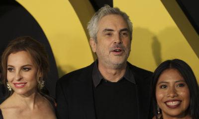 Alfonso Cuarón sigue ganando premios por su película Roma, la cual ya cuenta con reconocimientos internacionales