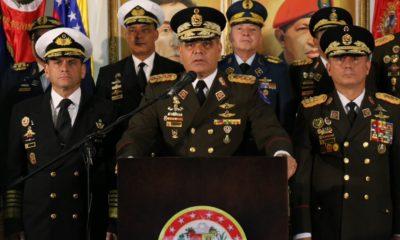 Vladimir Padrino, Fuerzas Armadas, Venezuela