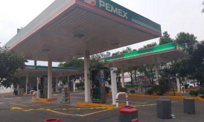 Gasolinera, coyoacán
